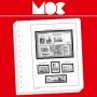 MOC SF-Vordruckblätter Frankreich - Selbstklebende Marken für Ge