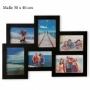 Bilderrahmen Collage 6-fach mit 6 Bilderrahmen Nr. 73658