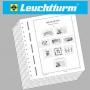 Leuchtturm Vordruckblätter DDR 1985-1990 306222 / 24/6