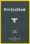 Briefpostbuch 1938 R. von Decker's Verlag G. Schenk Berlin  Nac