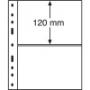 Leuchtturm Kunststoffhüllen 322646/OPTIMA2S, 2er Einteilung, sch