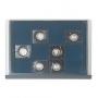 Safe Münzen-Schublade Möbelelement Nr. 6572 mit 12 Fächern à 64
