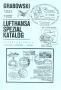 Grabowski Lufthansa-Spezialkatalog Flüge 1221, 1222 1. Auflage 1
