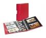 Publica M Color Fotoalbum/Postkarten Berry rot mit passender Sch