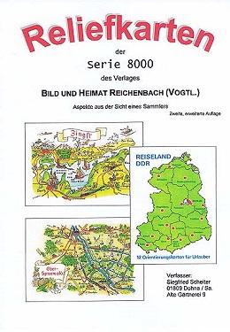 Scheiter, Siegfried Reliefkarten der Serie 8000 des Verlages BIL