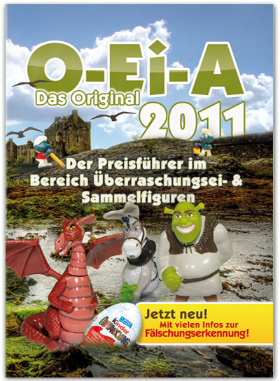 Feiler O-Ei-A Preisführer 2011 + gratis 1 Ü-Ei