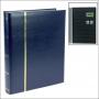 Safe Einsteckbuch 60 schwarze A4-Seiten Farbe blau Nr. 154-4
