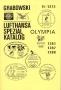 Grabowski Lufthansa-Spezialkatalog Olympia Flüge Nr. R-1273, 128
