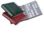 Leuchtturm Münzalbum OPTIMA-Classic rot für 256 Münzen mit 10 di