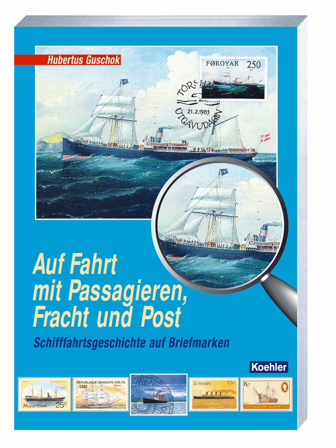 Guschok Auf Fahrt mit Passagieren, Fracht und Post - Schifffahrt