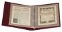 KOBRA Ganzsachen- und Belegealbum mit 15 Blättern aus extra stab