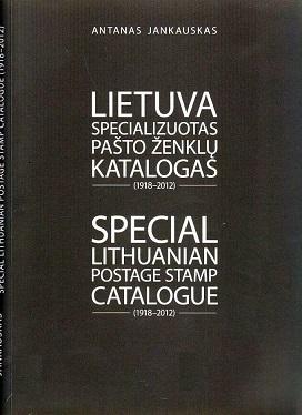 Janauskas, Antanas Special Lithuanian Postage Stamp Catalogue (1