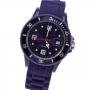 Silikon-Style Uhr Aubergine Nr. 4051857737386