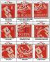 Handbuch Thüringen Feldmerkmale Mi.-Nr. 92-99 und 112-115