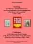 Brockmöller, Knut Katalog der Beitrags- und Spendenmarken des Fr