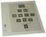 Lindner Vordruckblätter DDR Papierunterschiede 1989-90 T121S