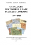 Frick, Michel/Sturm, Alain/Demeraux, Alain Catalogue des Timbres