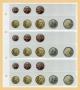 Kobra Euro-Münzenblatt Nr. FE24 für 3 komplette Sätze Euromünzen