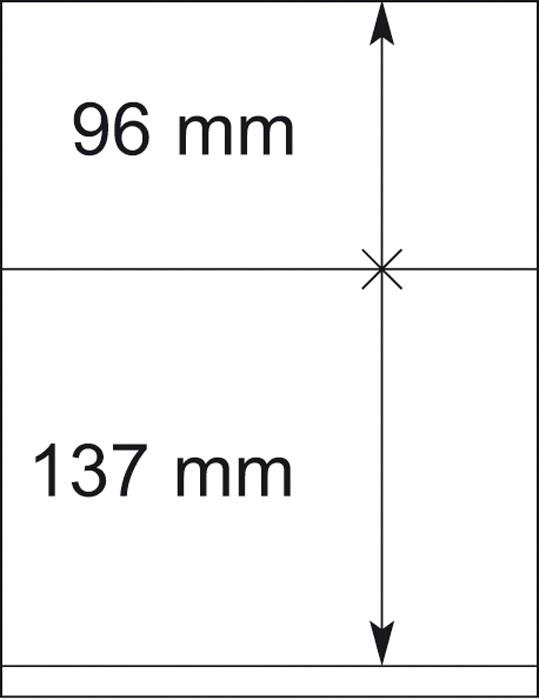 Lindner T-Blankoblatt 802209P per 10 Stück