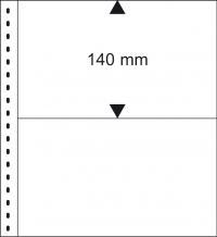 Lindner Einsteckblätter Omnia010P weiß per 10 Stück
