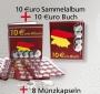 10 €uro-Sammelabum + 10€-Buch + 8 Münzkapseln gratis Nr. 700202