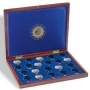 Leuchtturm Münzkassette Volterra für 21 2€-Gedenkmünzen 10 Jahre