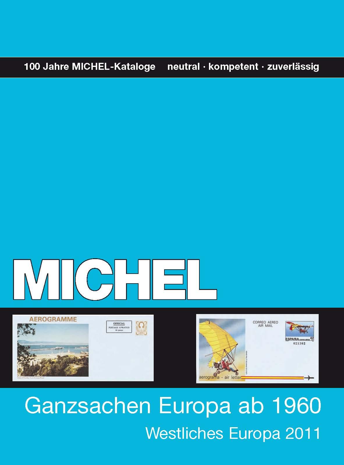 Michel Ganzsachen-Katalog Europa ab 1960 (Westliches Europa) + B