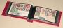 Kobra Briefalbum G3 Farbe rot mit 50 glasklaren Taschen
