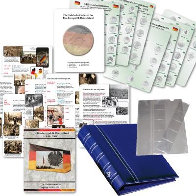 CLASSIC Münz-Album für 5- und 10-DM-Gedenkmünzen Band