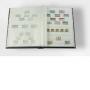 Leuchtturm Comfort Einsteckbuch 64 weiße A4 Seiten, bordeaux Nr.