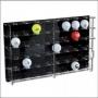 Acryl Vitrine für 40 Golfbälle 45x29x5,5cm Nr. 5246