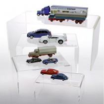 Acrylglas Präsentations-Brücken H65, B150, T85mm Nr. 5290