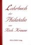 Krause, Richard Lehrbuch der Philatelie