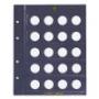 Leuchtturm VISTA-Münzblätter für 40 St. 2 Euro-Münzen 312494/MBL