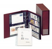 Lindner Multi collect Album Nr. 1300 weinrot