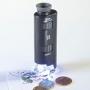 Leuchtturm Zoom-Mikroskop mit LED 60-100x Vergrößerung 313090/PM
