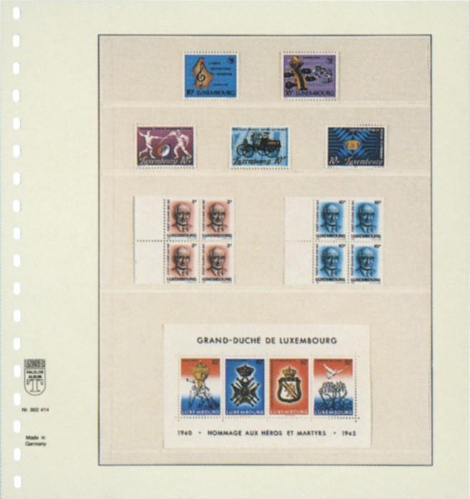 Lindner T-Blankoblatt 802414P per 10 Stück