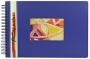 Foto-Einsteckalbum Blue 5924B  Feeling Nature Format 23,5 x 34 c