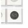 Safe Münzrähmchen 50x50mm Nr. 7825M selbstklebend aus Karton für