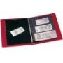 Leuchtturm Banknotenalbum rot 327926/VARIOF3CR