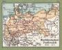 Briefmarken-Geographie Atlas Deutschland