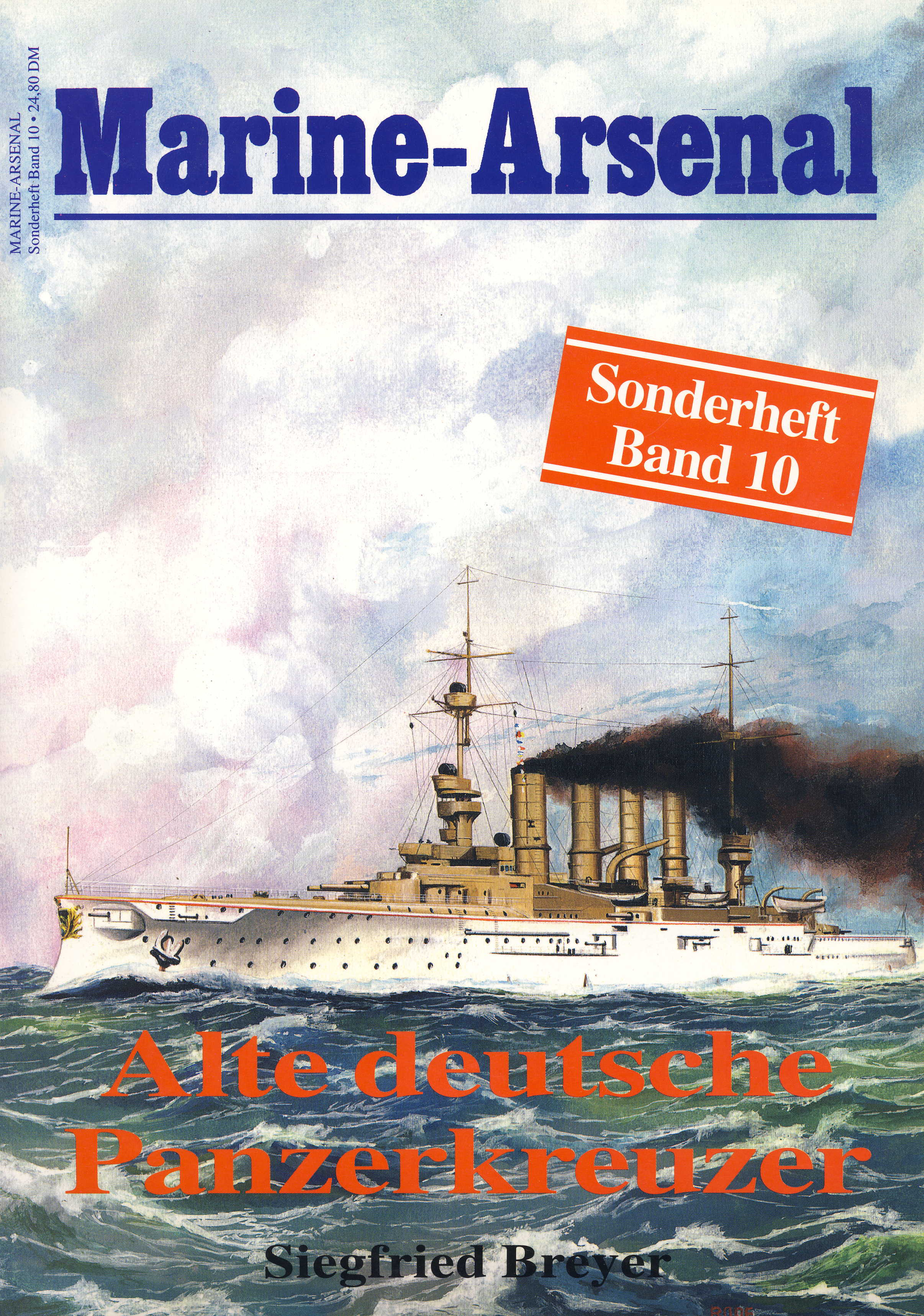 Breyer Marine-Arsenal Sonderheft Band 10: Alte deutsche Panzerkr