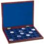 Leuchtturm Holz-Münzkassette für 35x100 €-Goldmünzen in Original