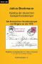 Bochmann, Julius Katalog der deutschen Gelegenheitsstempel – Die
