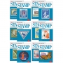 2021 Scott Standard Postage Stamp Catalogue Volume 1-6 Set
