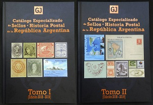 Jalil, Guillermo/Gottig José Luis Specialized Catalogue of Posta