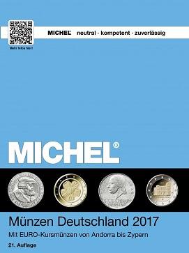 Michel MÜNZEN DEUTSCHLAND 2017  Mit Euro-Kursmünzen von Andorra