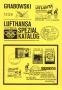 Grabowski Olympia Lufthansa-Spezialkatalog Flug Nr. 1236