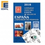 Edifil 2018 Catalogo Unificado de sellos de Espana y Dependencie