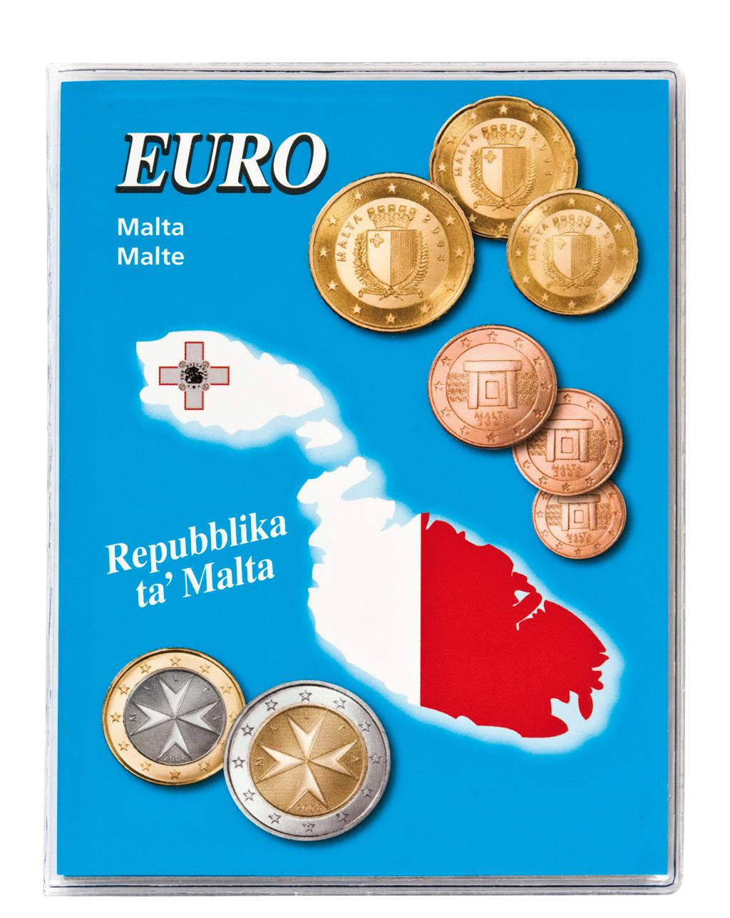Lindner Euro Taschenalbum Malta Nr. 8459-17